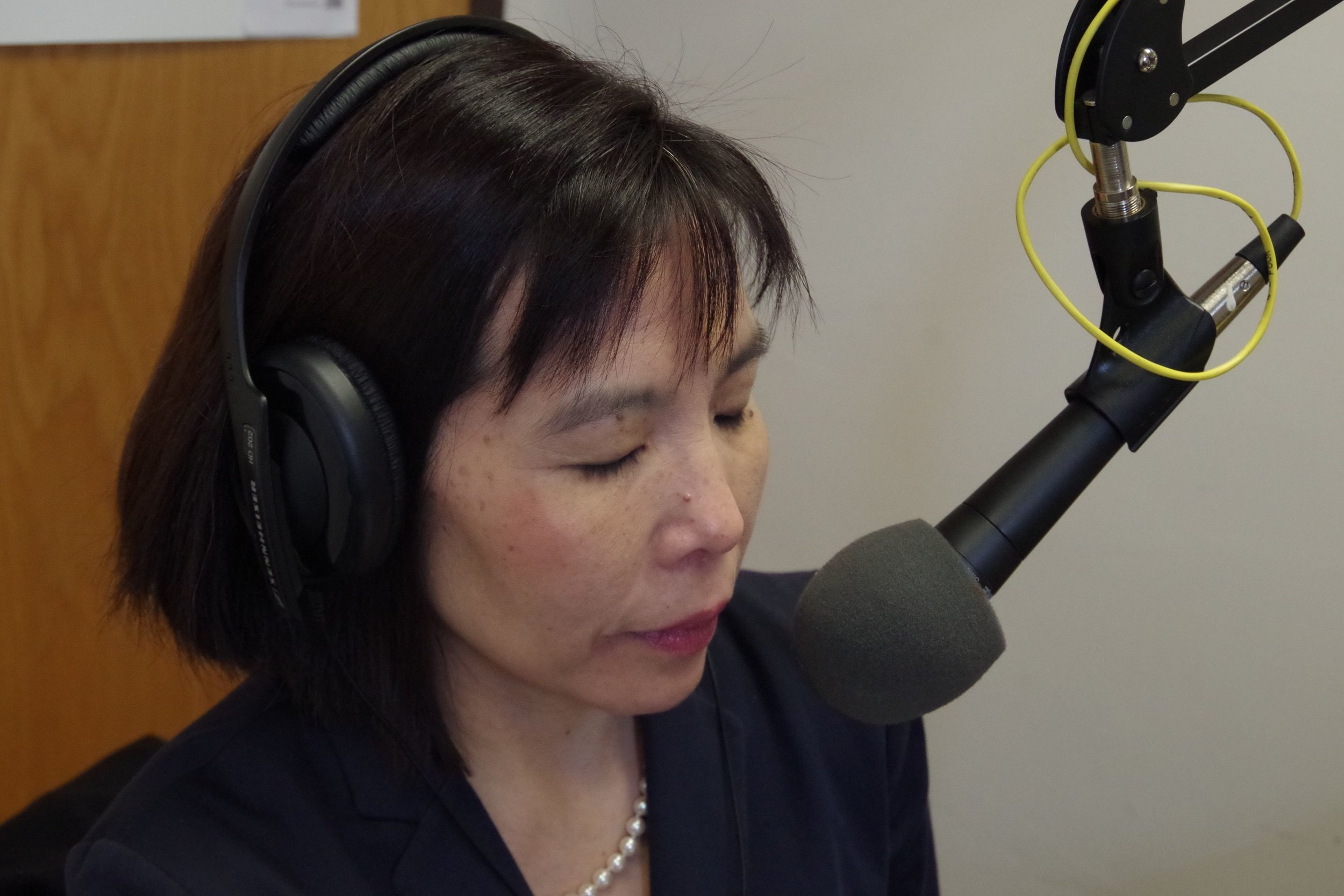 Host Betsy Kim talk with Pierre Barbour, the Executive Director at New Haven Solid Waste & Recycling Authority.