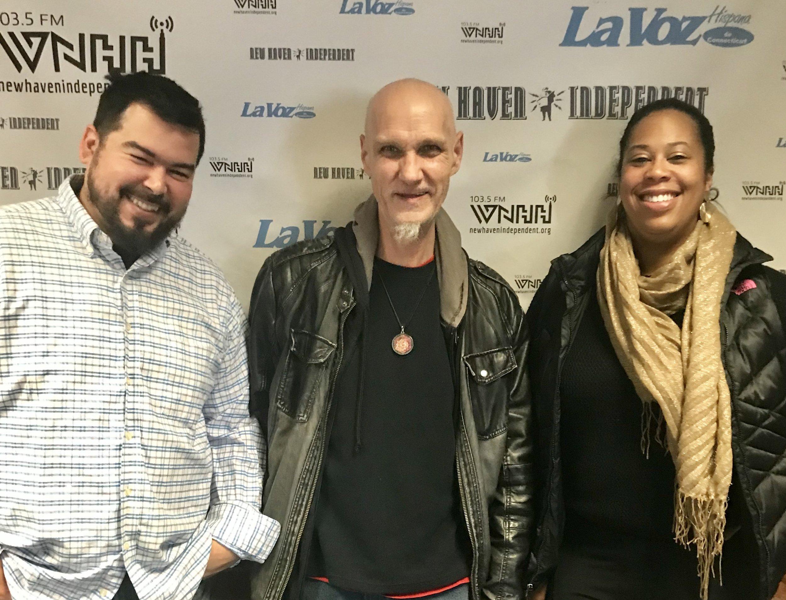 "Joe LaChance, Kebra Smith-Bolden & Uncle Lou kick off their new show ""Cannabis Corner""."