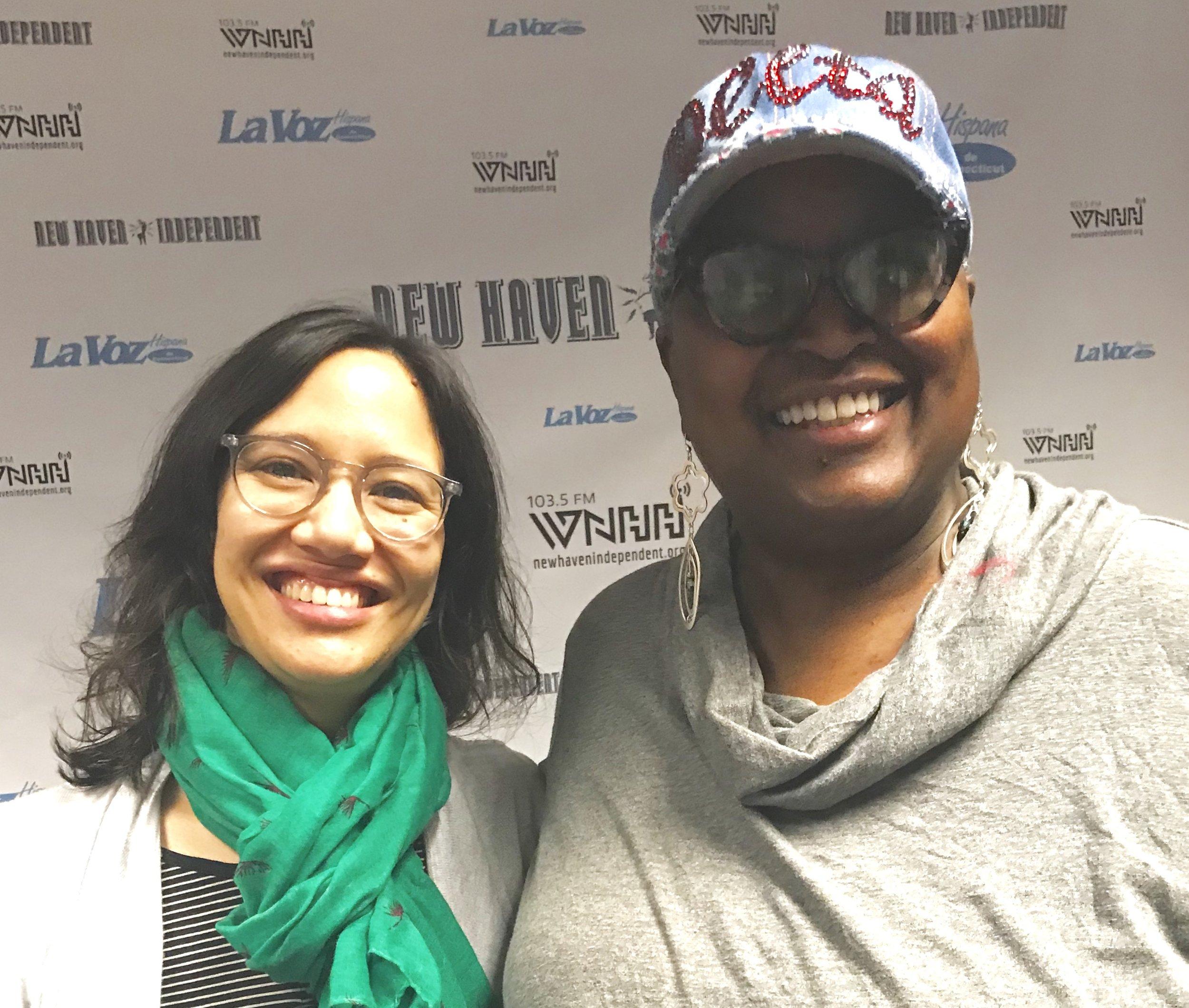 Host Babz Rawls-Ivy talks with Melissa Barrton, Beinecke Library.