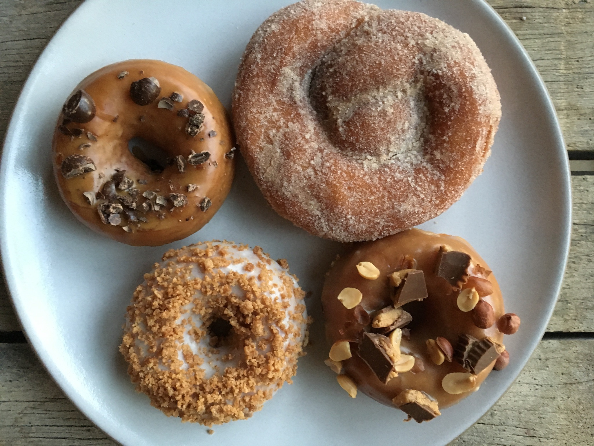 four donuts variety