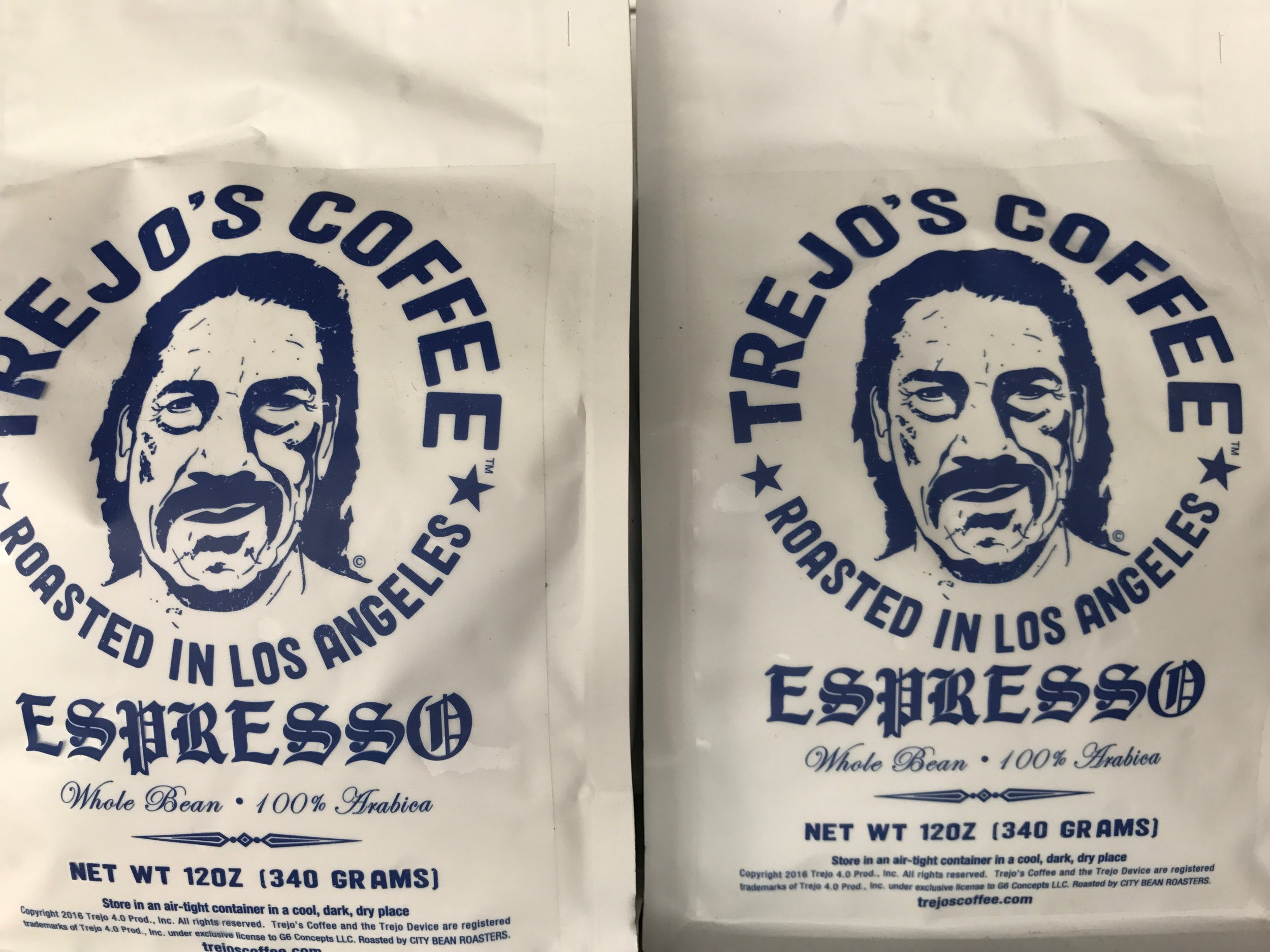 trejos bagged coffee