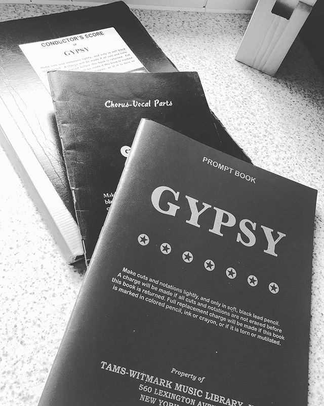 "Look what the postie brought ..... - - - ""Sing out Louise"" #Gypsy2020 🌹"