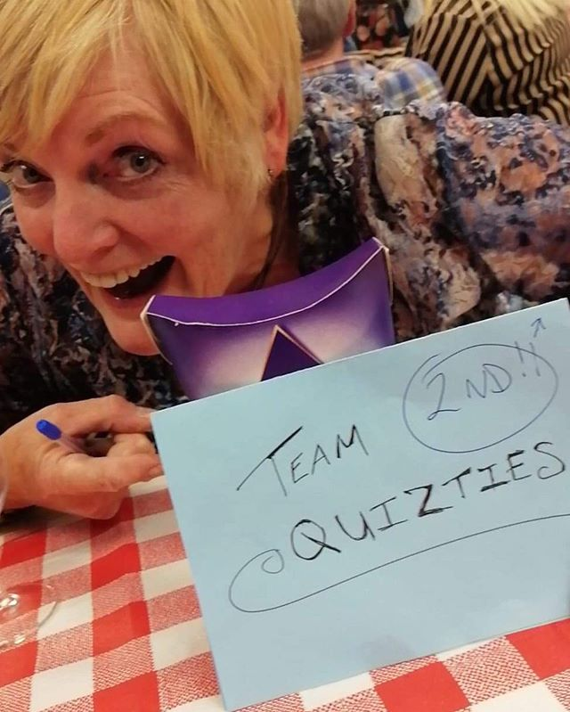 Some of our squad have been out representing at the @tcos_operatics Quiz Night - brilliant night had by all - #TeamQuizties 😘