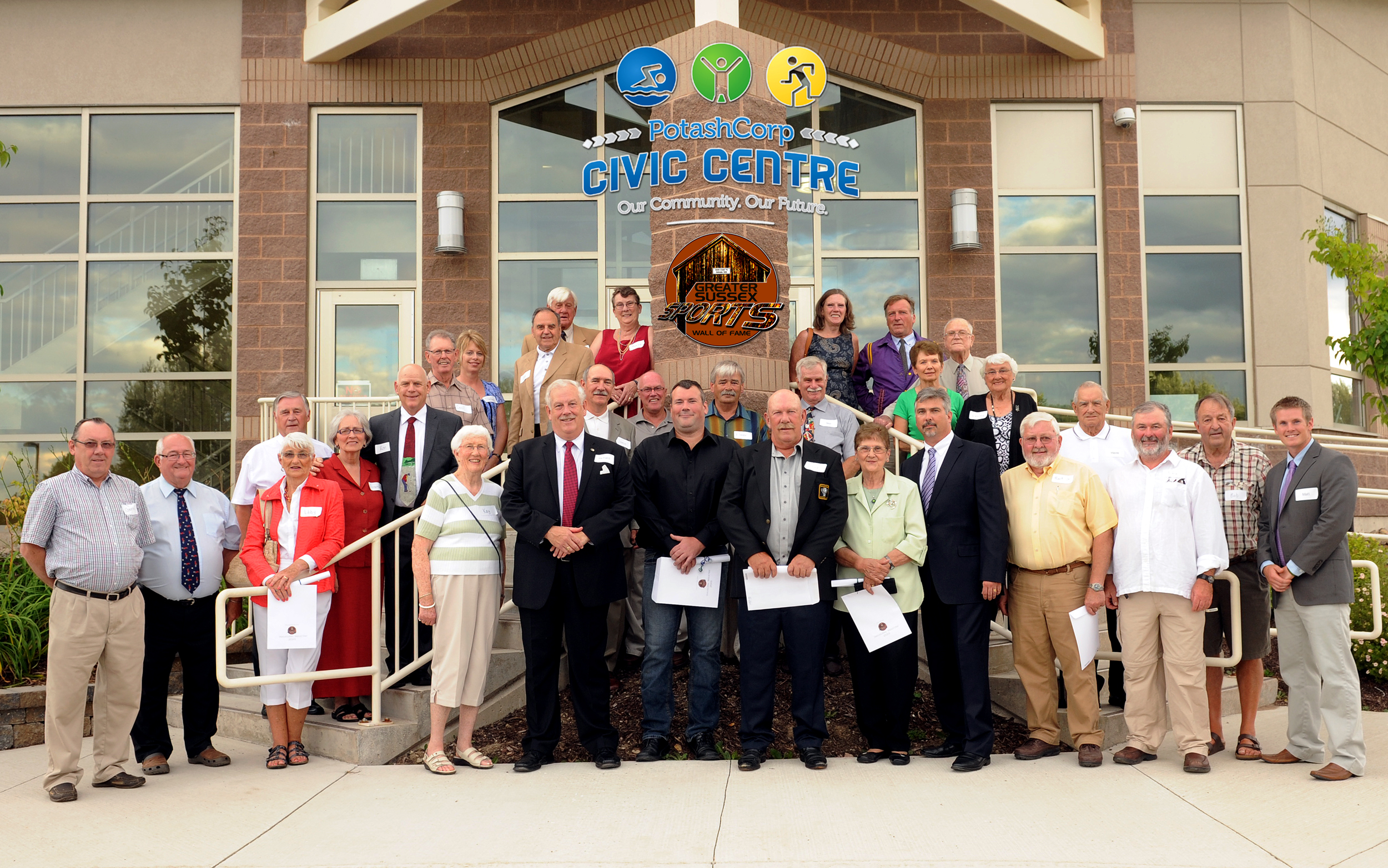 GROUP PHOTOGRAPH OUTSIDE CENTER WITH LOGOS.jpg