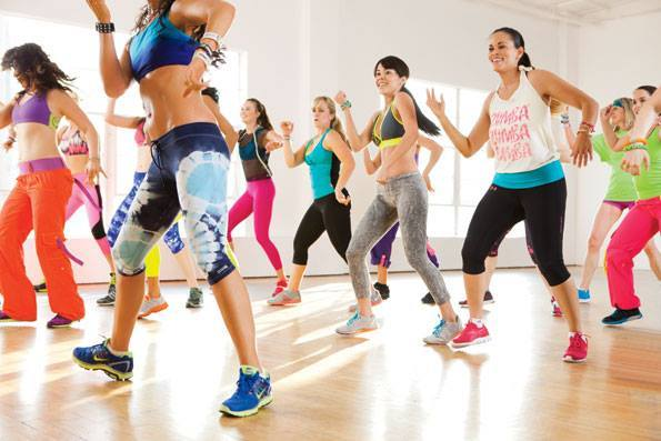 Zumba - Features a combination of fast and slow rhythms that tone and sculpt the body.