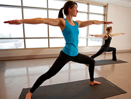 Yoga - A great class to try yoga for the first time or to maintain the flexibility you have already achieved.