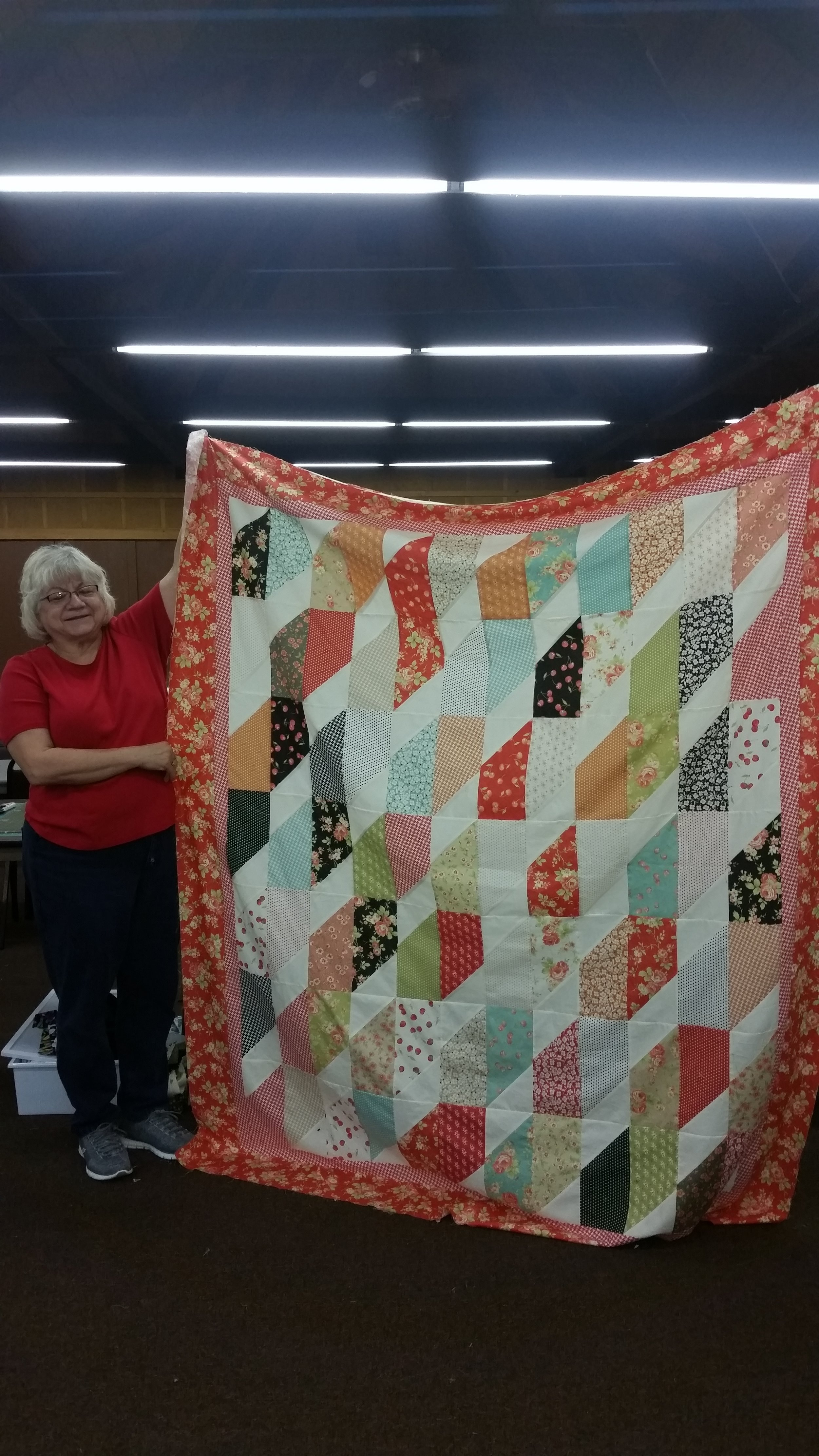 Bev Campbell's Mystery Quilt