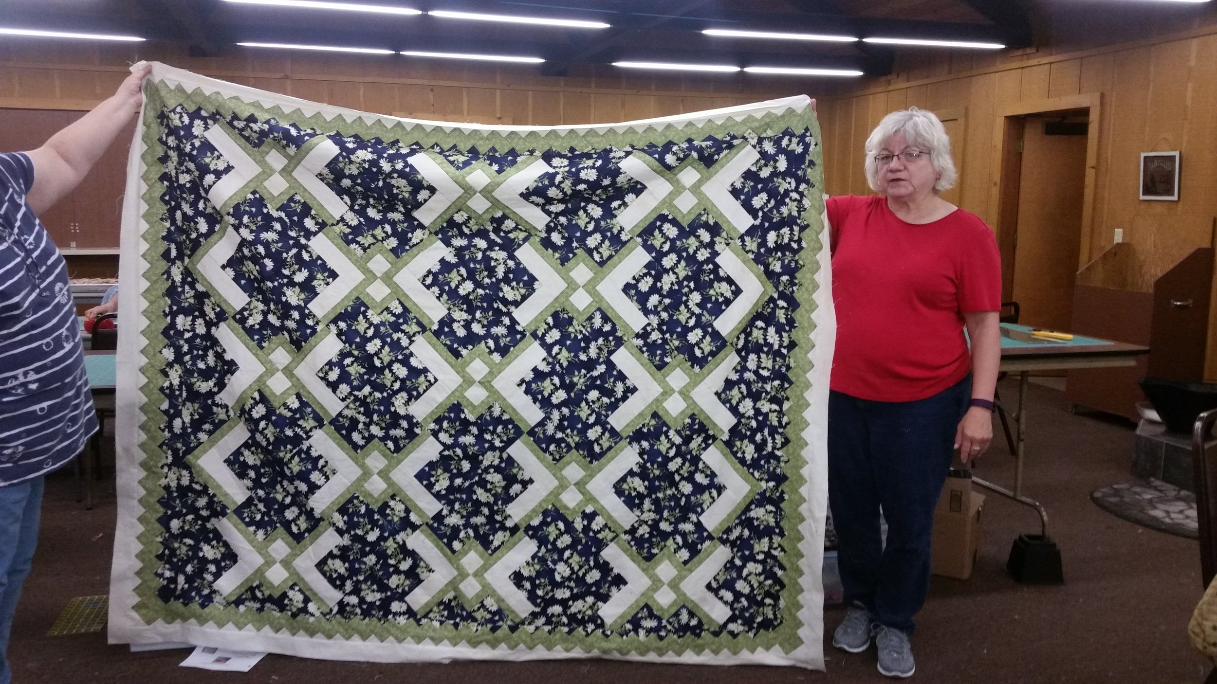 Bev Campbell's Spring 2016 Mystery Quilt