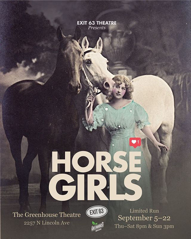 ~Have you gotten your #horsegirls tickets yet?~ 🔲yes 🔲no  p.s. if you use the code JONAH you can get $15 tickets!! 🐴🦄🤪💯 Ya know... cause Jonah Stockamore is so totally H0T! ❤️ 14 days till HORSE GIRLS  #exit63theatre #theatre #theatreinchicago #chicagoplays #chicago #horse #girls