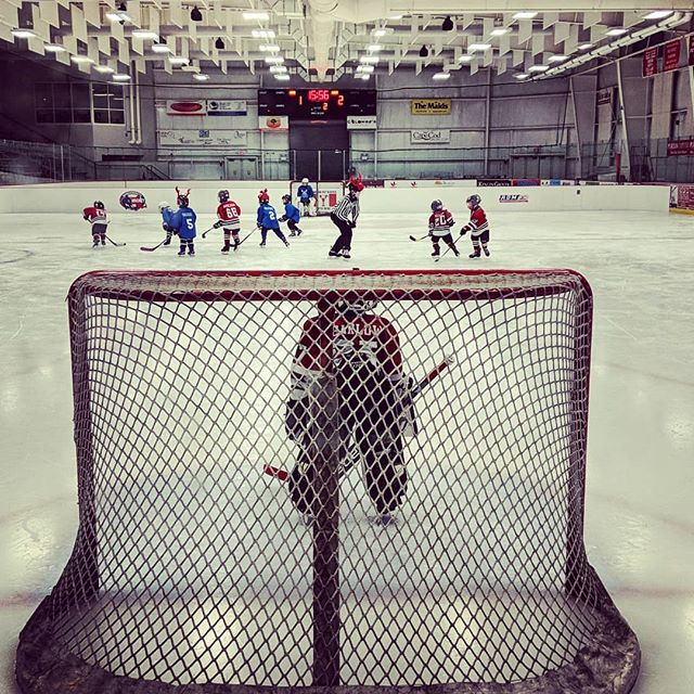 Back at it! #lobsterpothockey