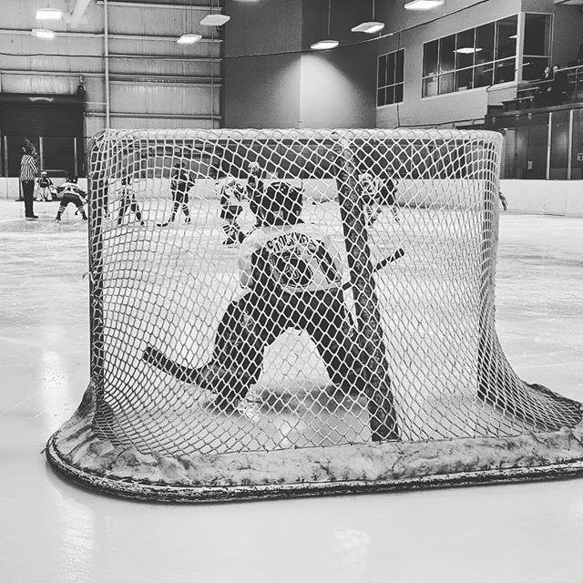 Brick wall in net 🧱  #lobsterpothockey