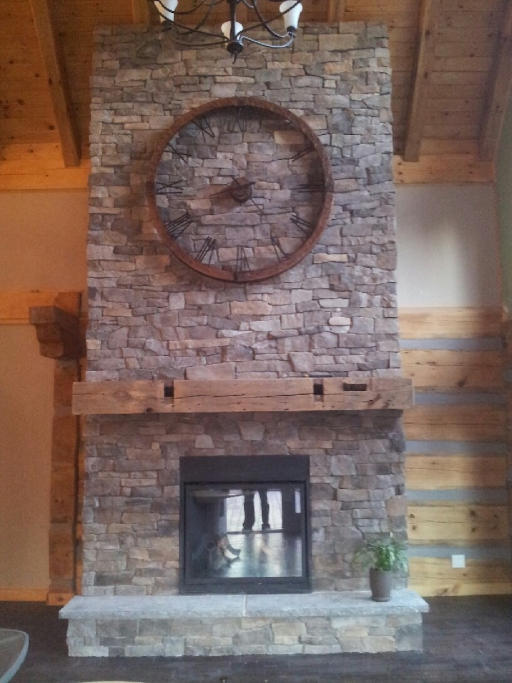 Reclaimed Barn Beam Fireplace Mantles Handcrafted By Century Home Renos Serving Southern Ontario Century Home Renos