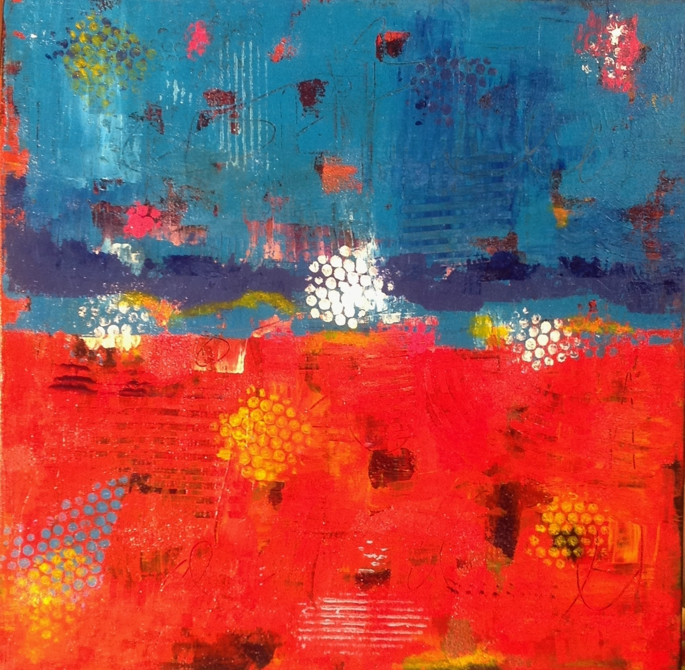 Blue over Red (2013)