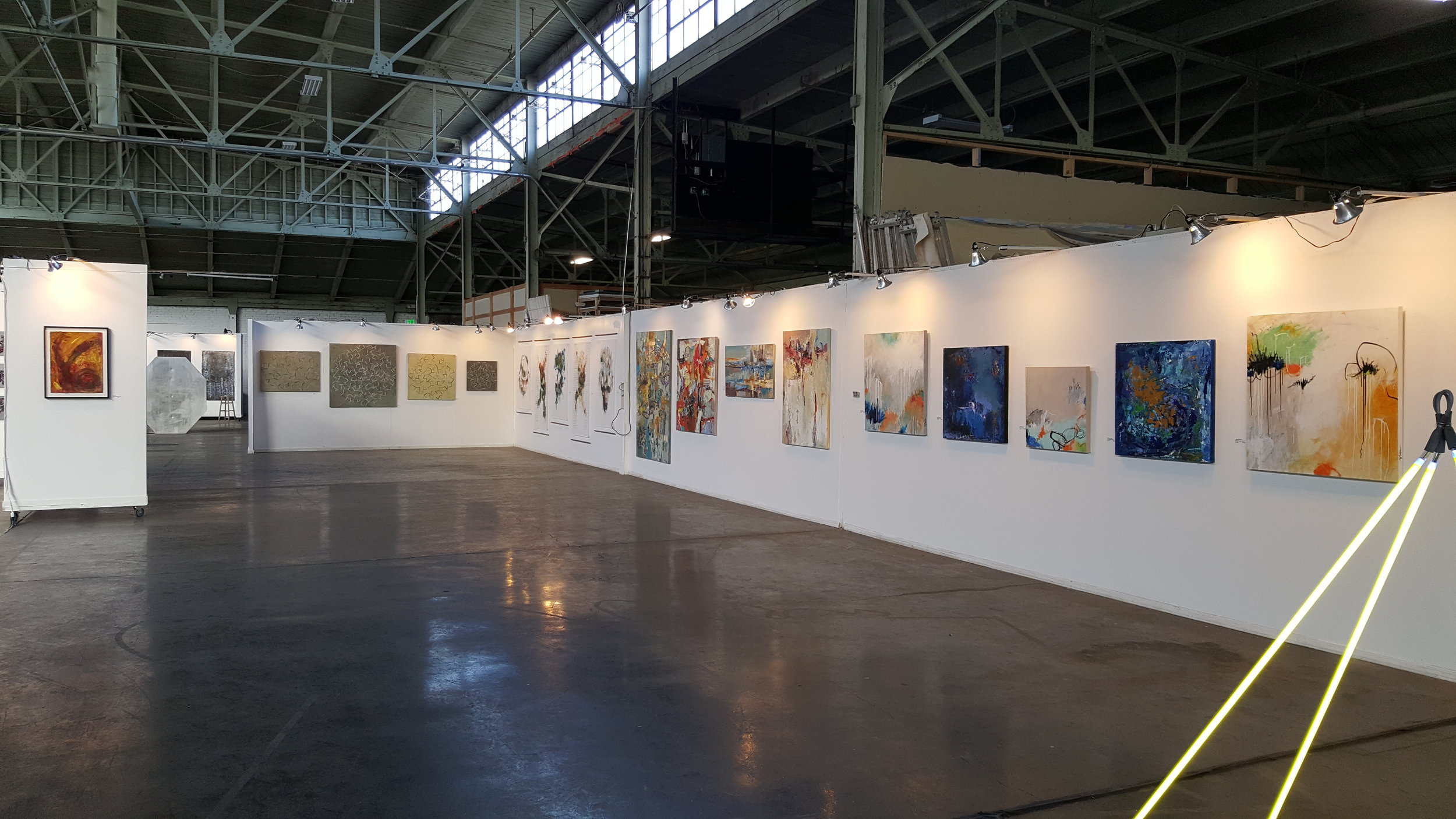 Group Show at American Steel, Oakland, CA (2015)