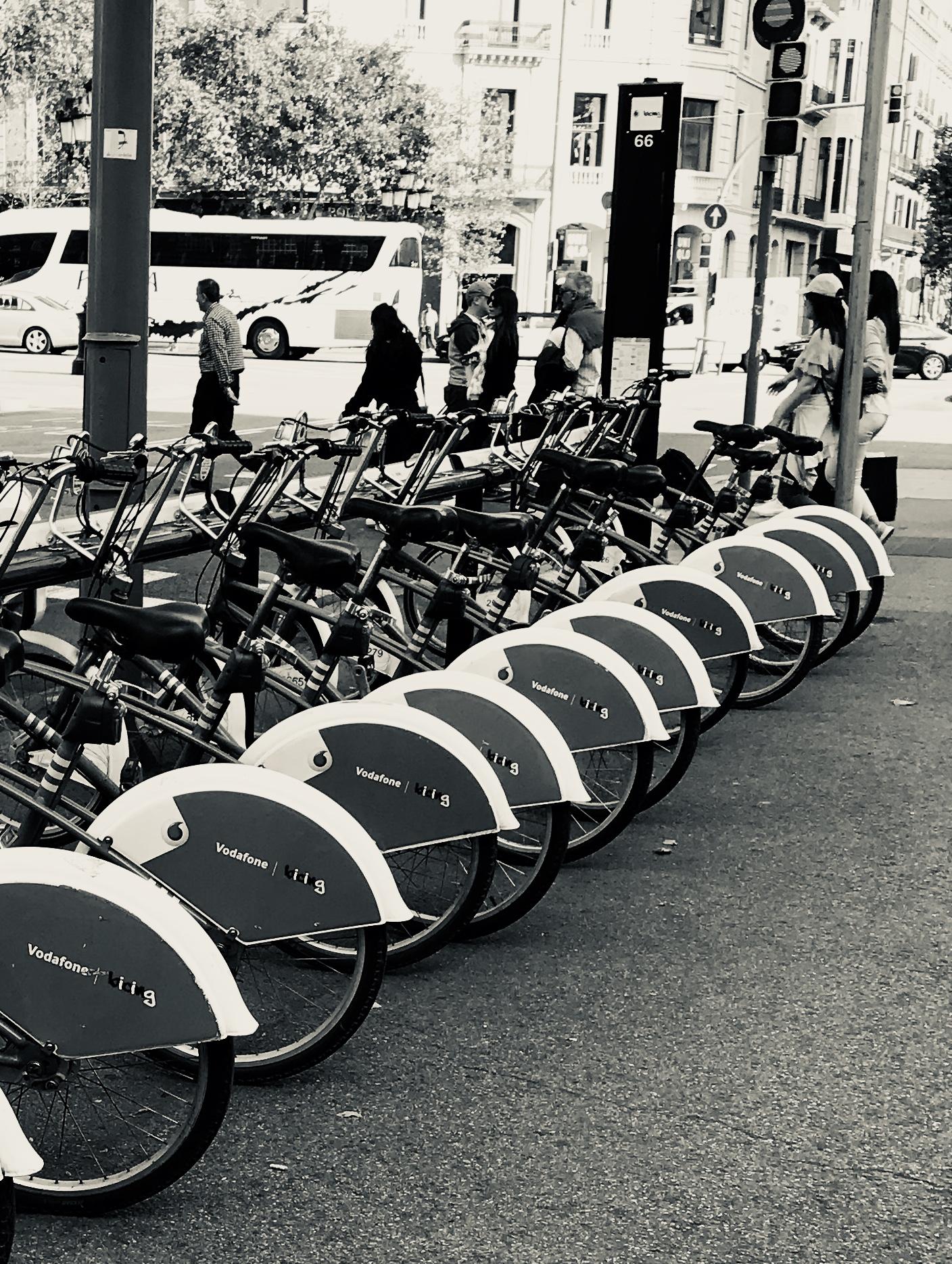 """""""Bikes in Barcelona"""" Barcelona, 2017"""