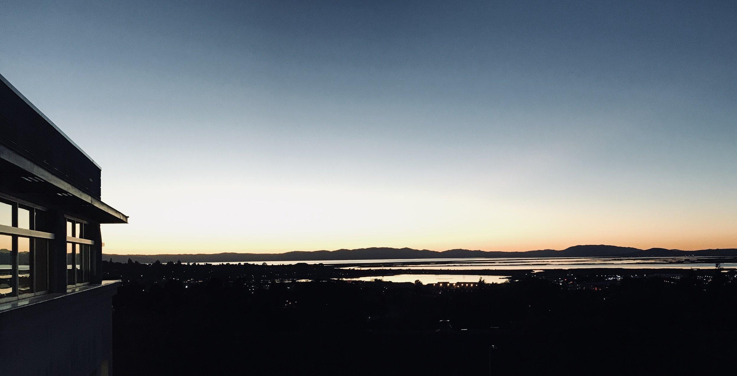 """""""Sunset"""" Suisun Bay, CA"""