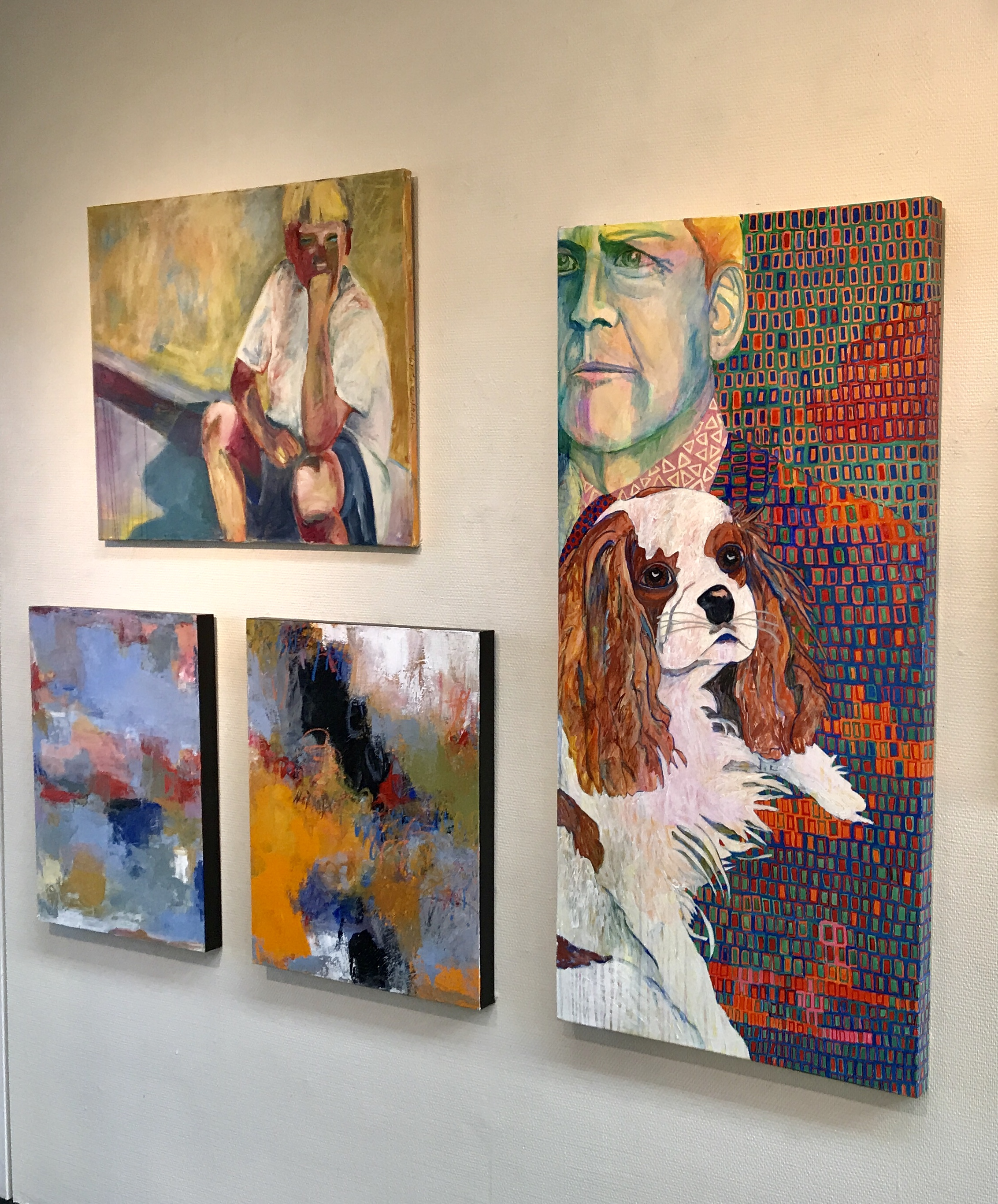 """""""Paintings for the Soul"""" show in Benicia (2018)"""