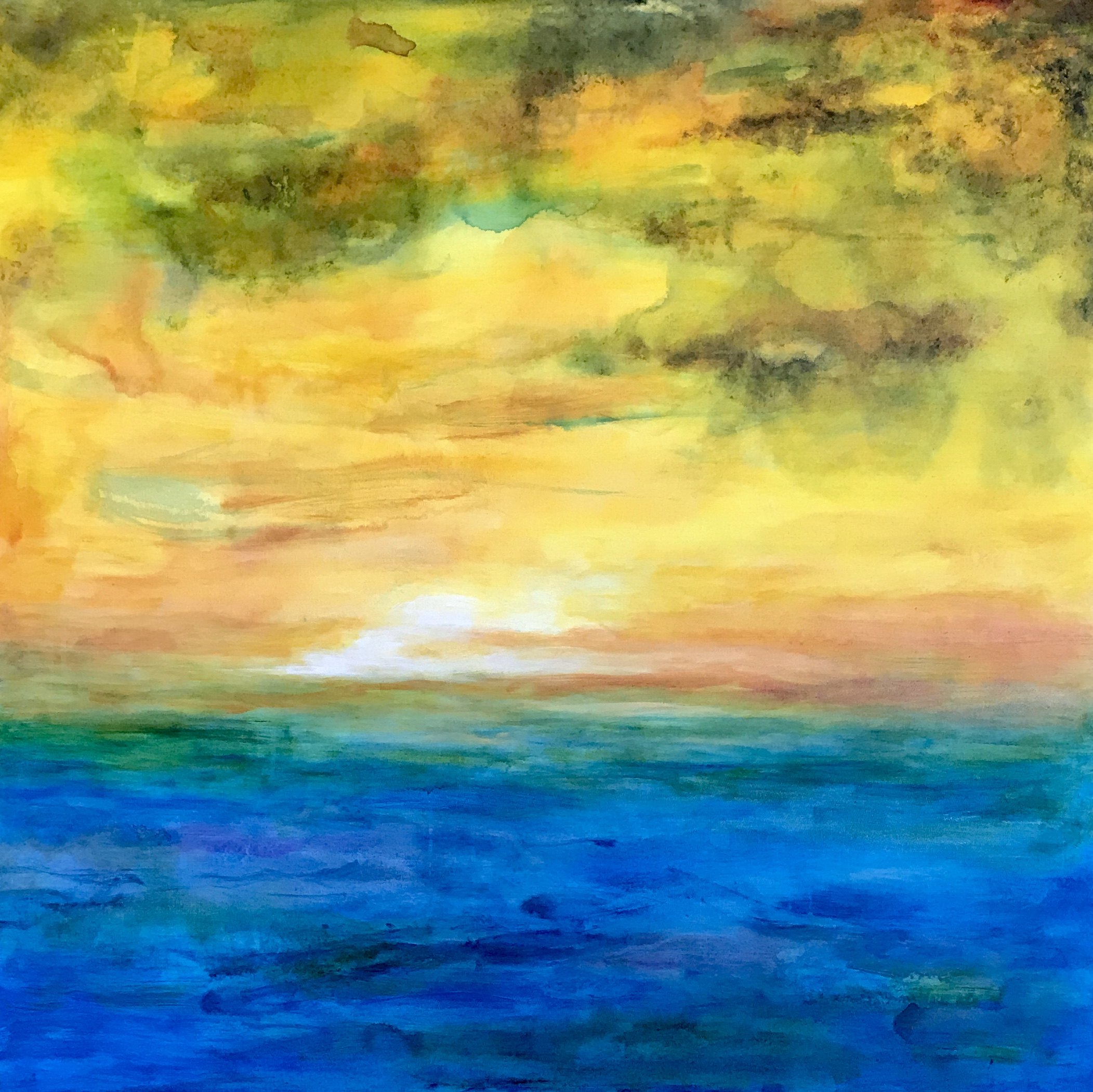 Untitled (Seascape) 2018