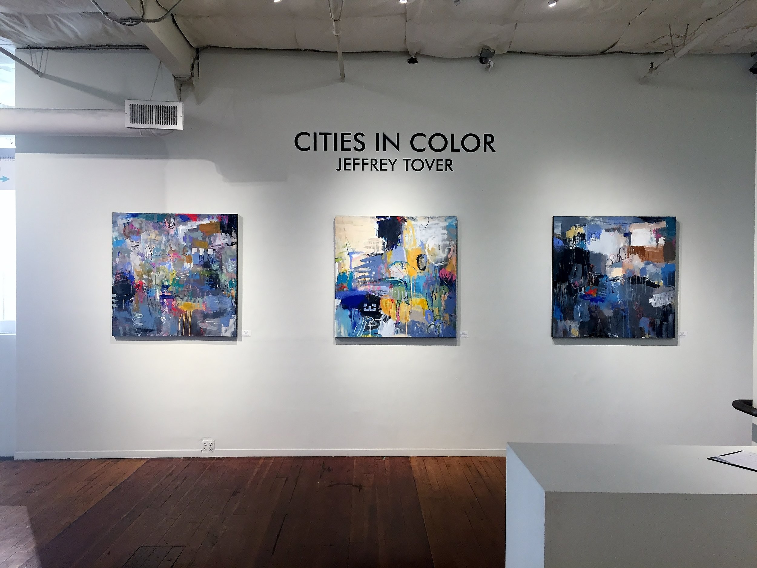 """""""Cities in Color"""" Arthouse on R Solo Show (2019)"""