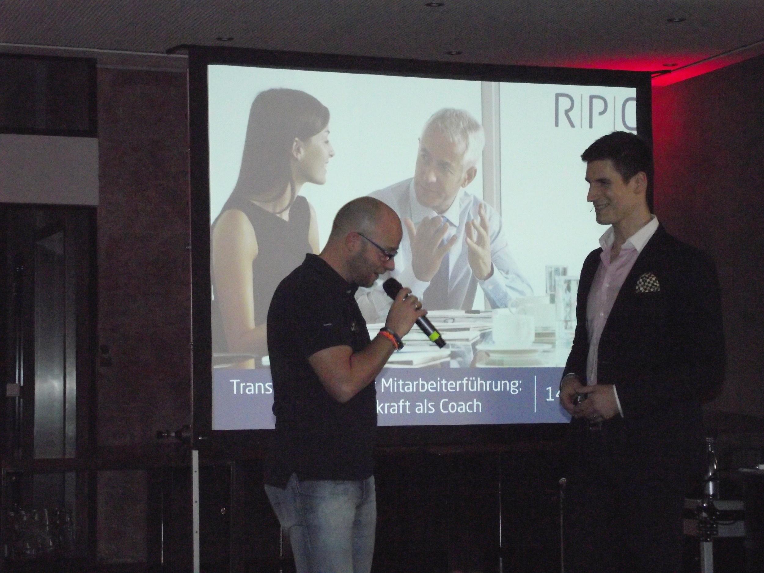 Impulsvortrag Moderne Mitarbeiterführung Hannes Rehbein RPC Consulting GmbH