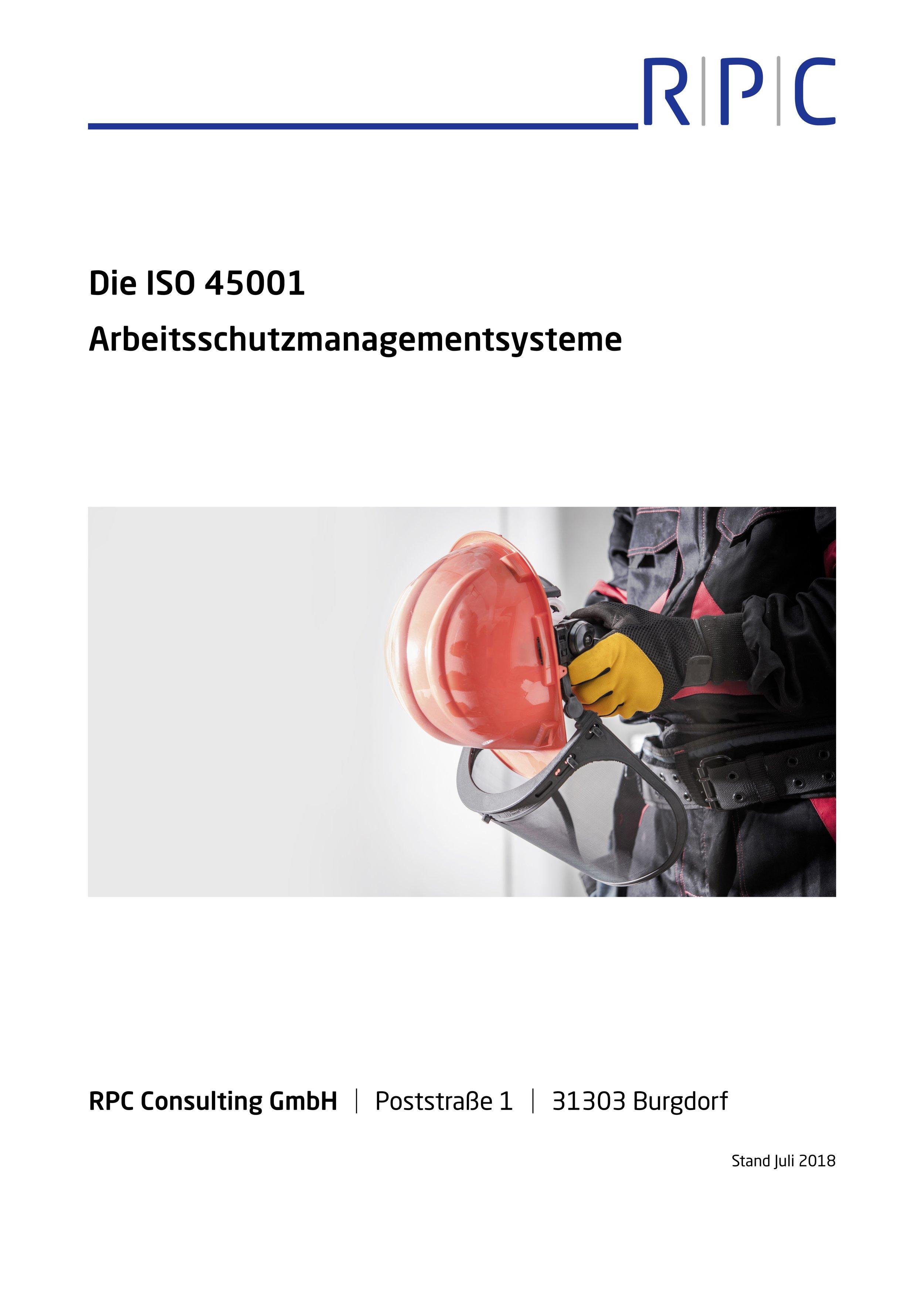 ISO 45001 - Arbeitsschutzmanagementsysteme