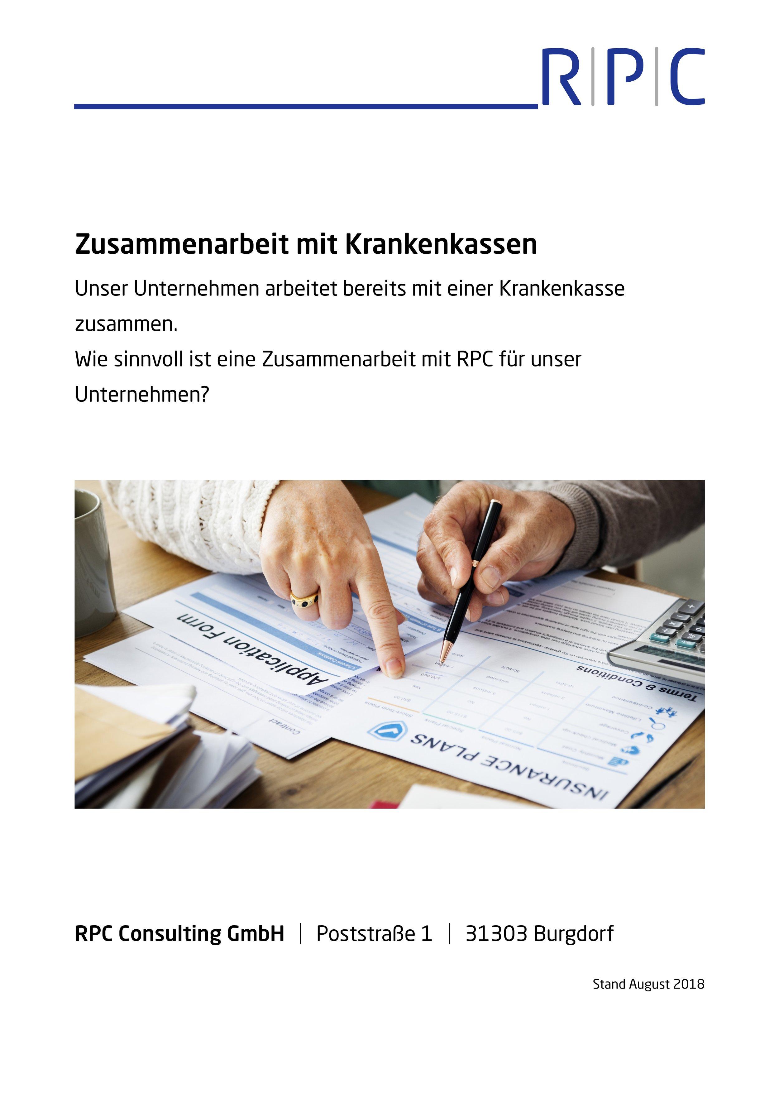 Krankenkassen - Zusammenarbeit mit Krankenkassen im BGM