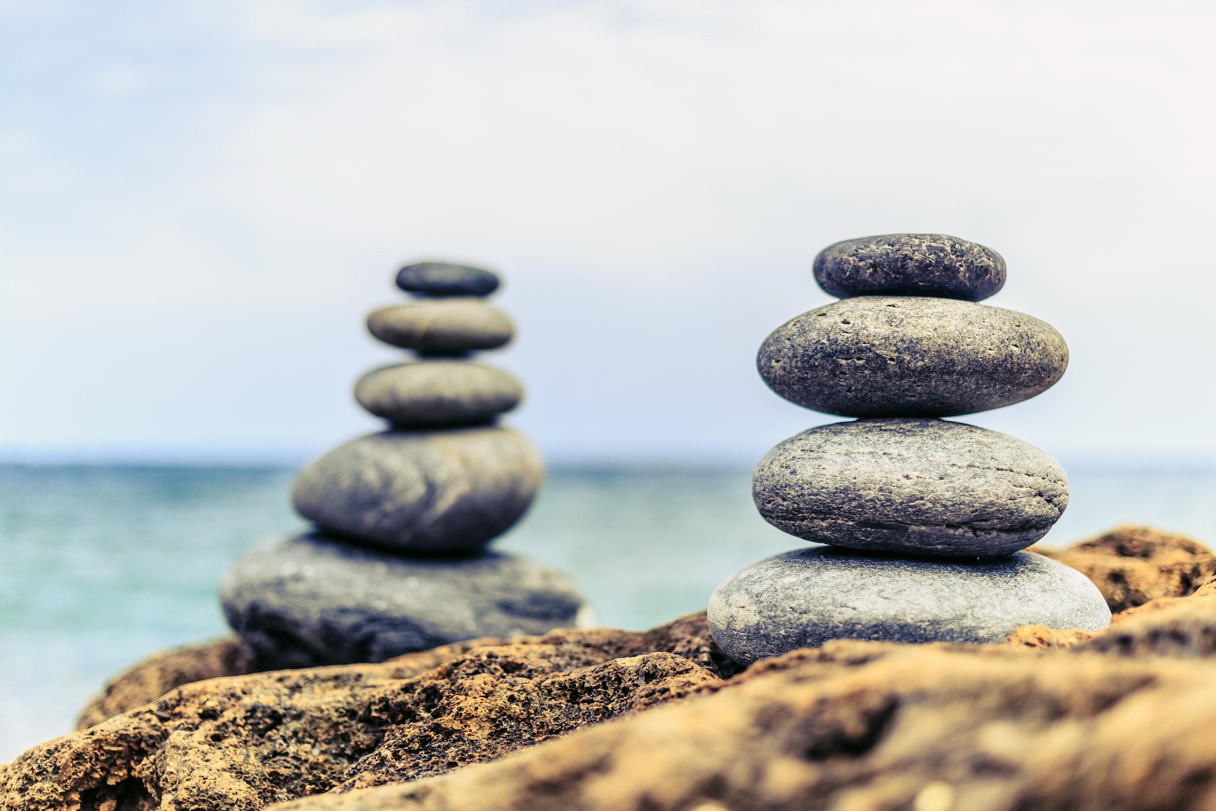 Balance Gesundheit und Krankheit