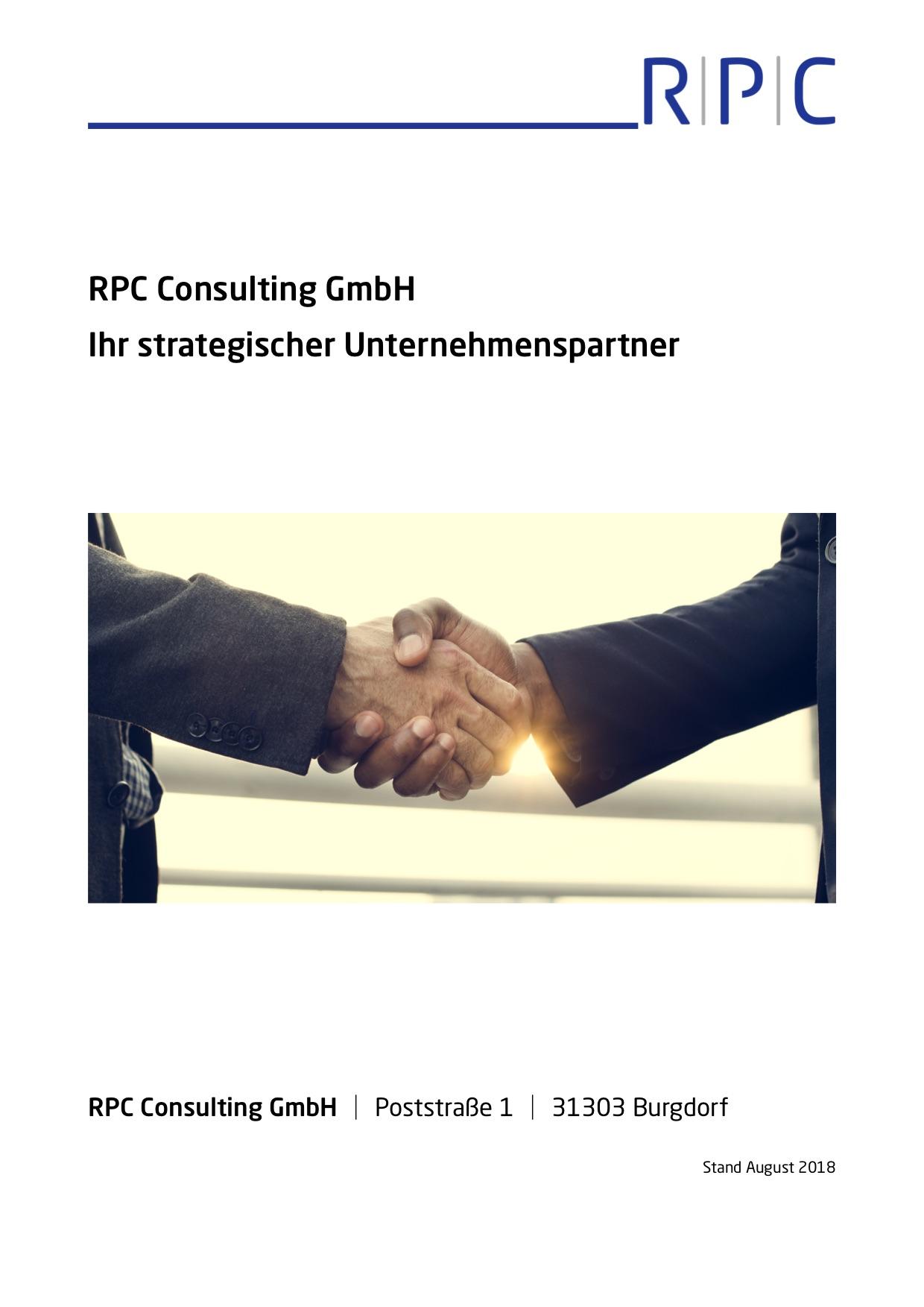 RPC Consulting GmbH - Ihr strategischer Unternehmenspartner