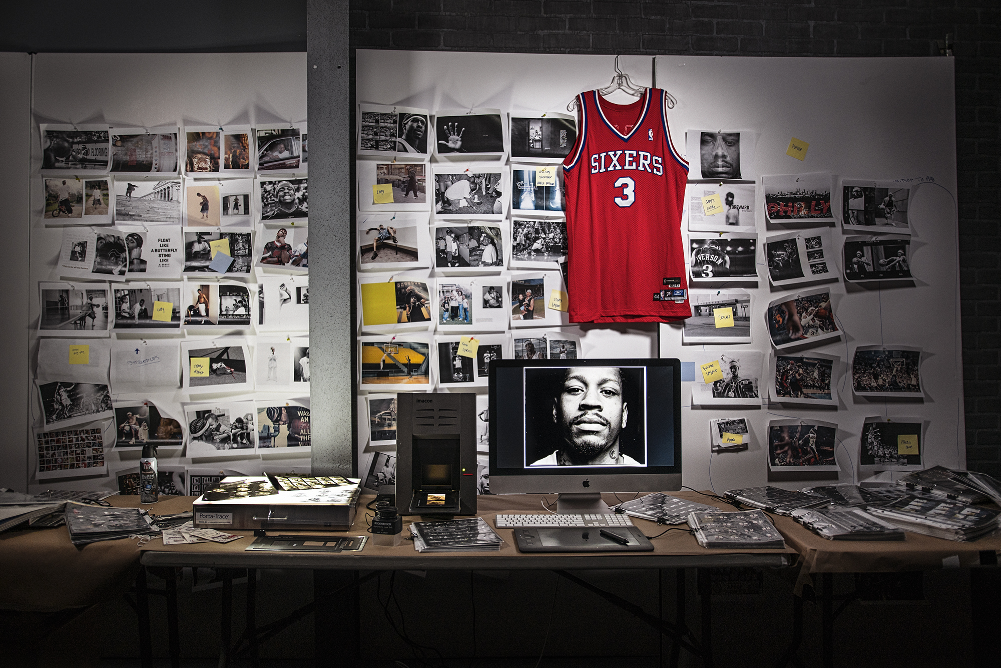 The Iverson Book - For the better of eight years, my job was to photograph Allen Iverson on and off the court.