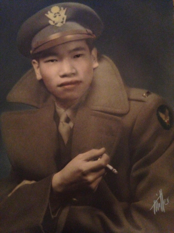 Lt. Henry W.F. Chin, U.S. Army Air Corps, 1942