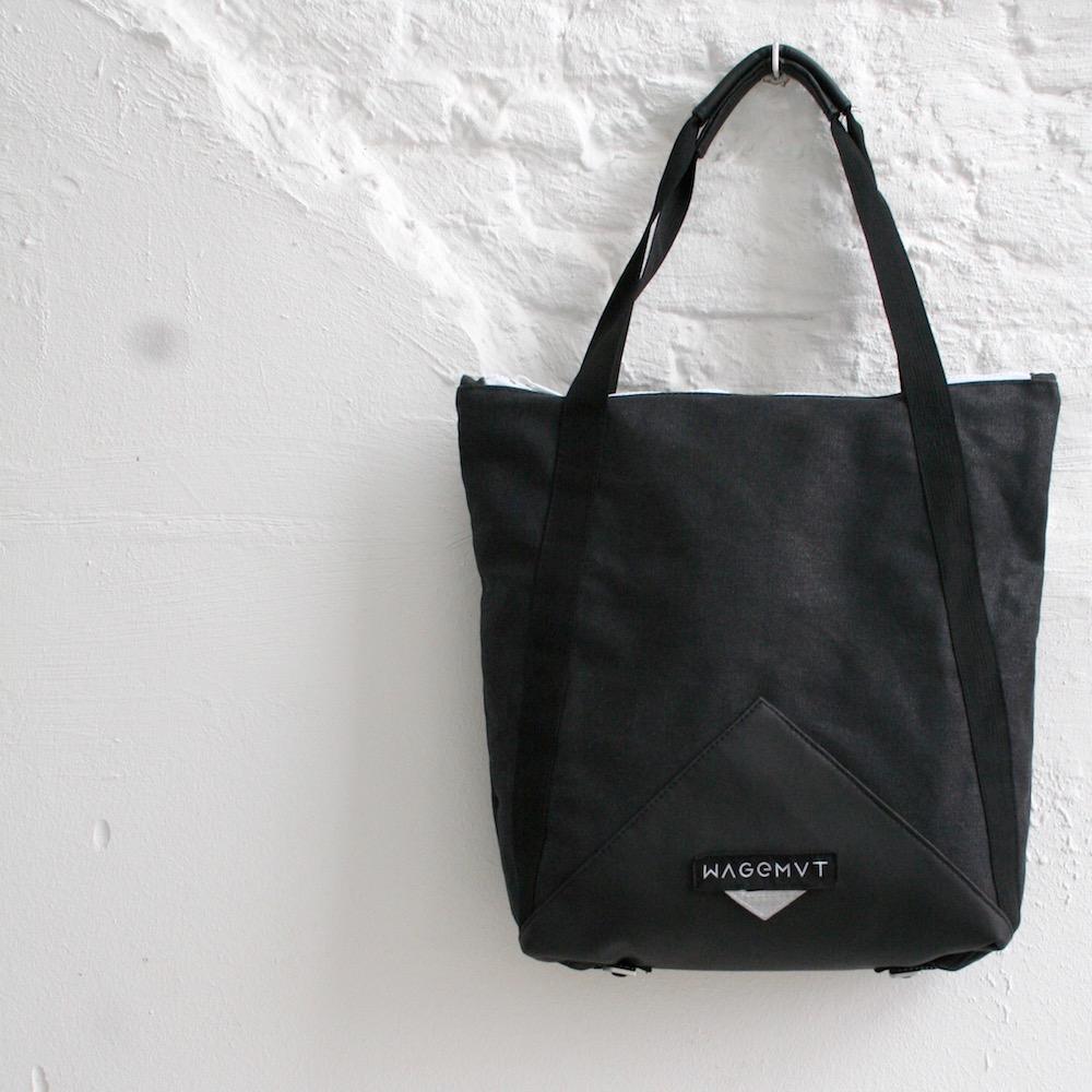 Wagemvt - Bewilder   2016   Branding,vormgeving en productontwikkeling van een vernieuwend tassenlabel.