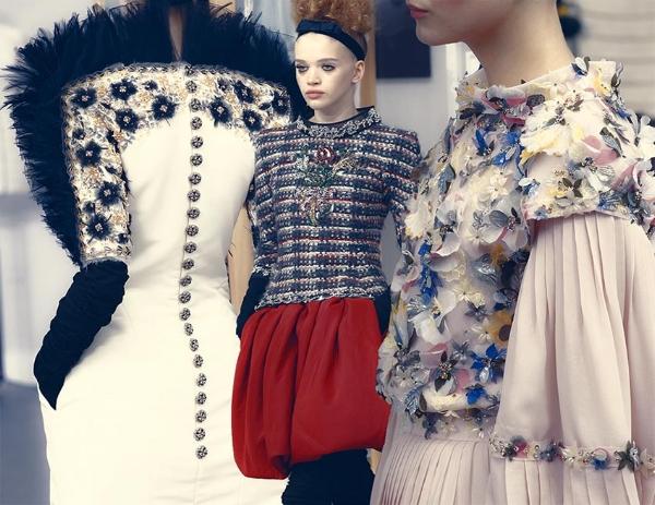 Photo credit: Chanel A/W 17 collection via Fashioners