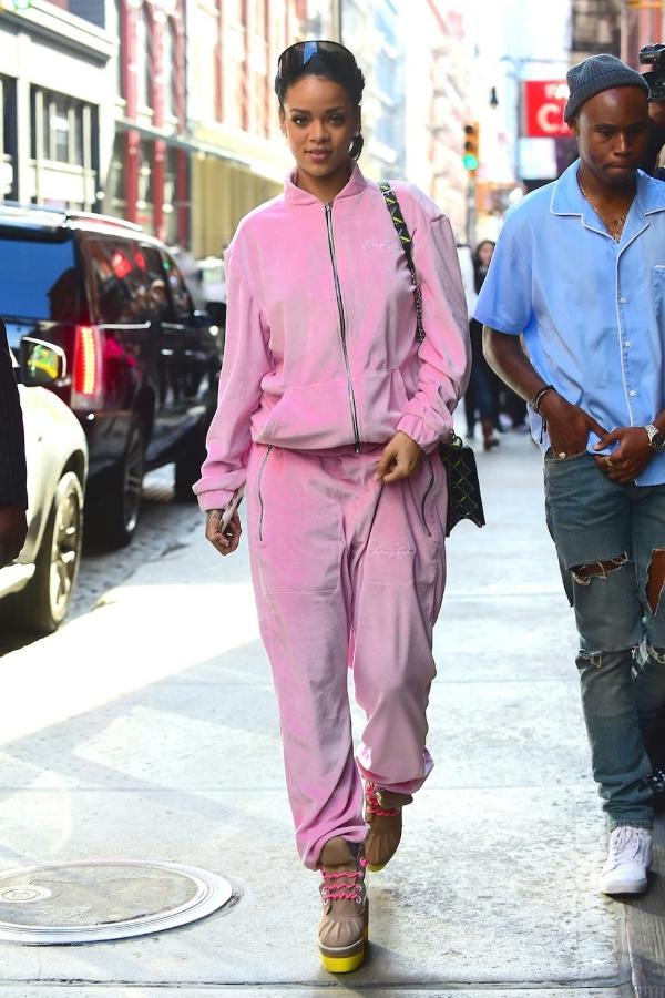 Photo credit: Rihanna in Sean John via Jess Marie