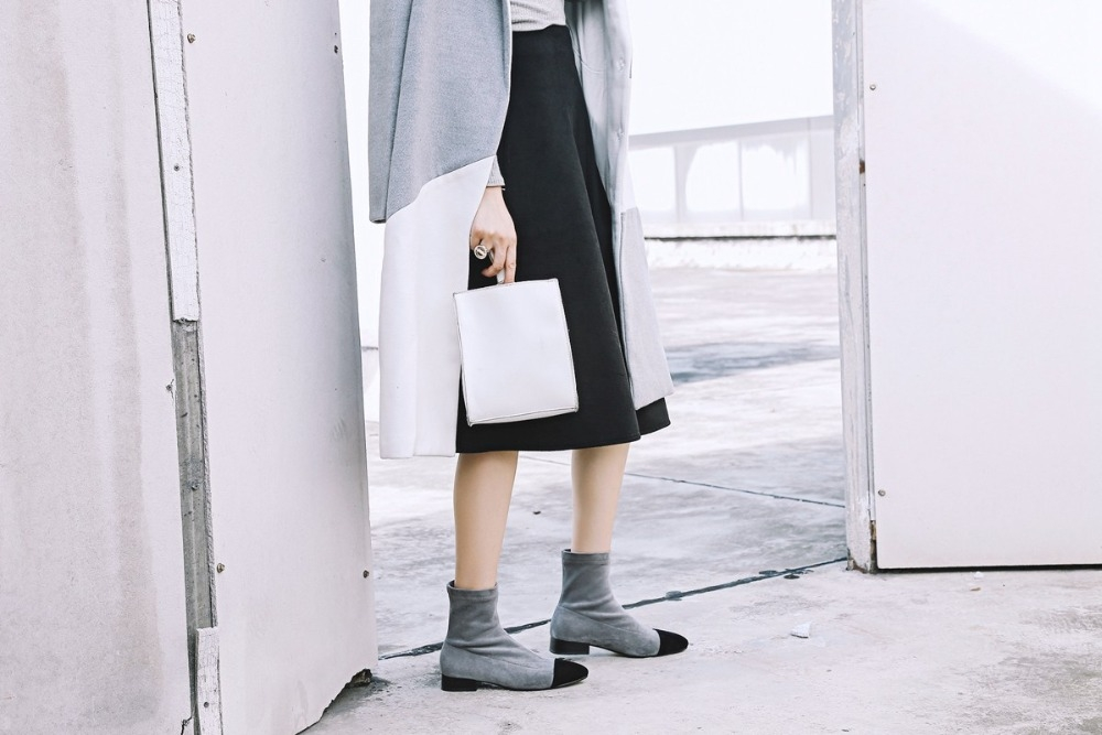 Simply Chic Sock Boot for $77