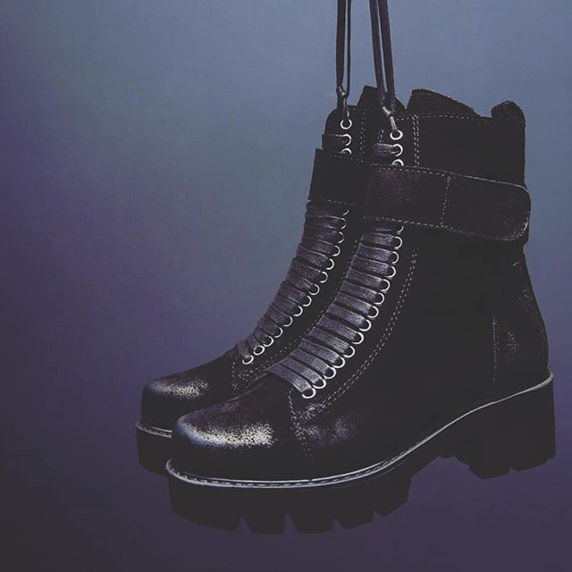 Dark and moody in our Trooper Boot. Is it winter where you are? . . . #suedeboots #blackboots #combatboots #laceupboots #gothboots #gothstyle #gothicstyle #streetwear #highfashion #allblackeverything #blackonblack #punkstyle #punkrockstyle #winterboots #winterstyle #leatherboots #shopit