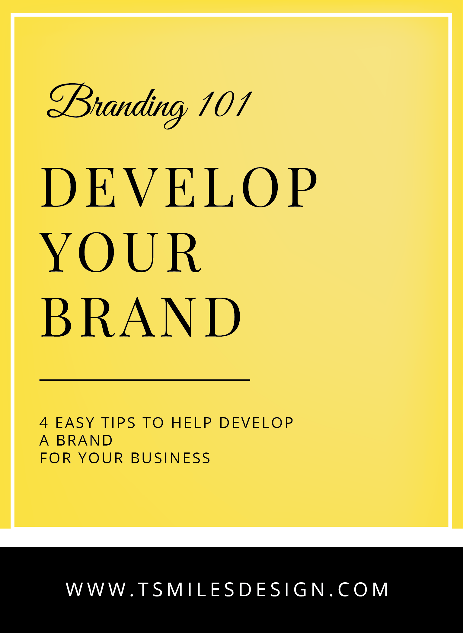develop your brand