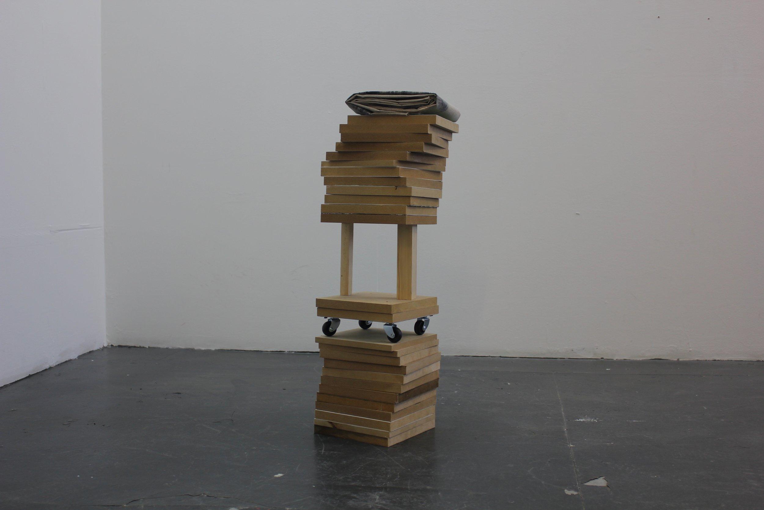 """Stack 2"" installation shot."