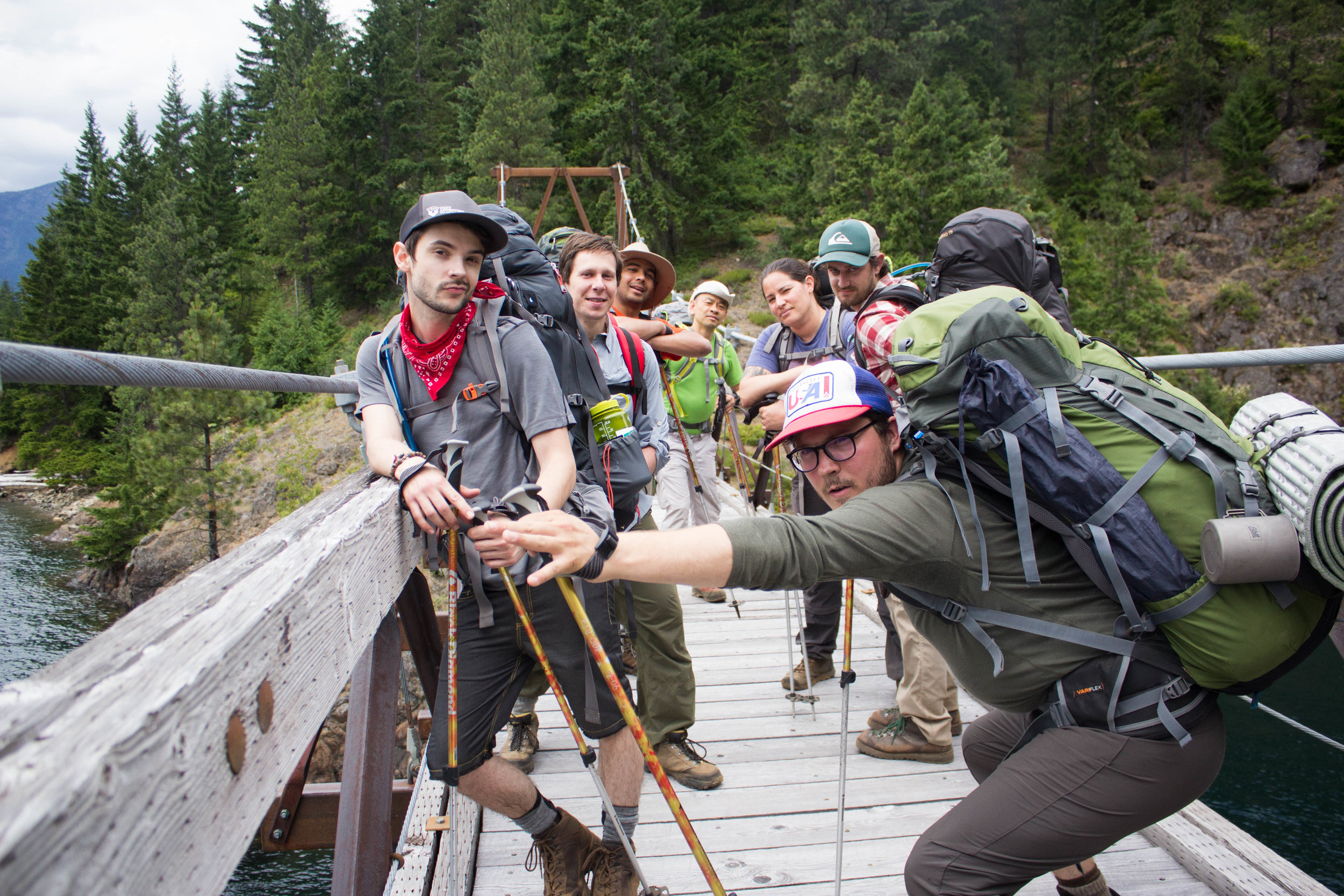 Trekking through the NORTH CASCADES - Twelve individuals, 30 miles through the woods, surrounded by glaciers and wildlife. A trip that transformed strangers into friends.