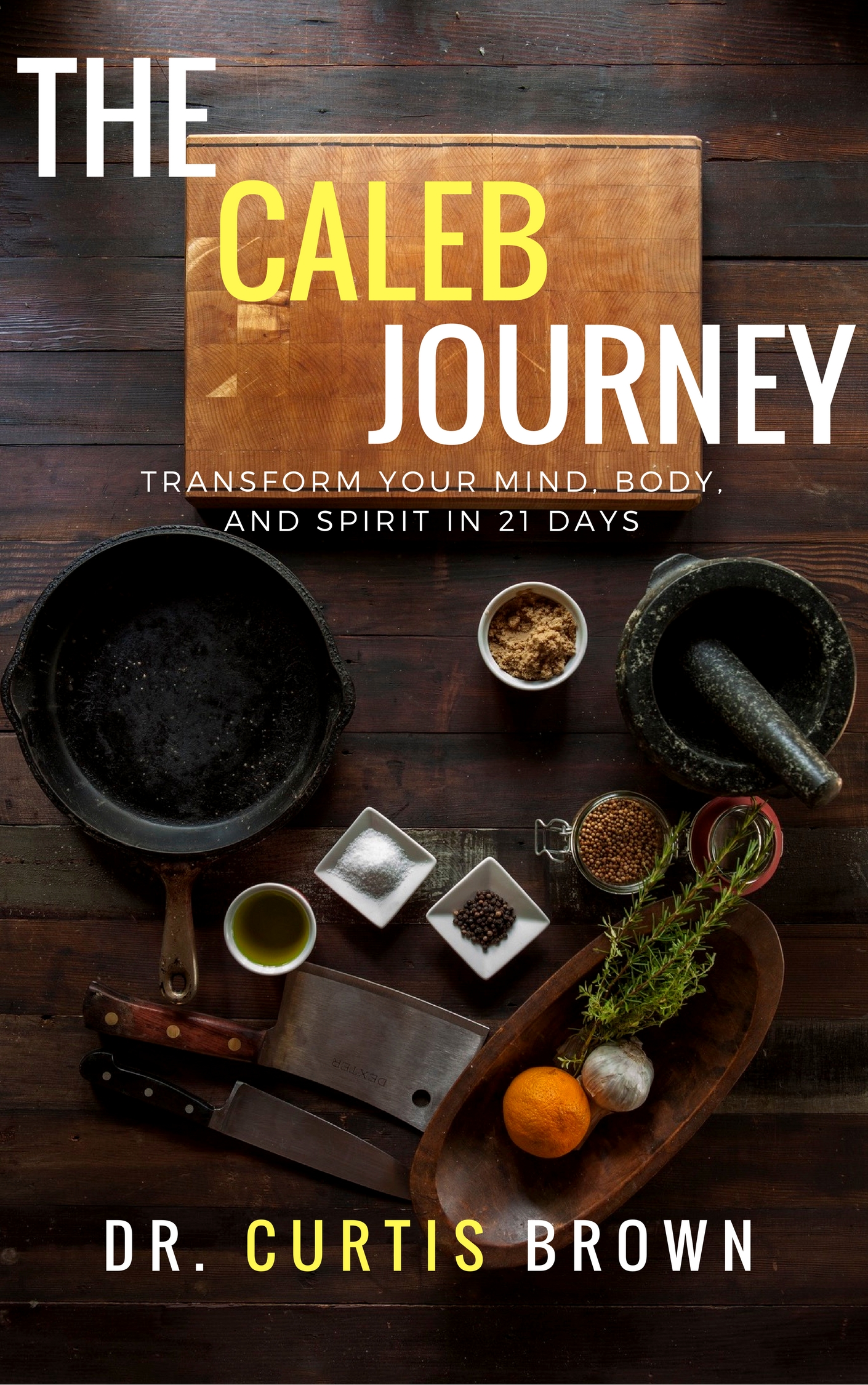 Available on Amazon - A 21-day journey to transform your mind, body, and spirit. Are you ready to maximize your health and wellness and live a life that glorifies God?
