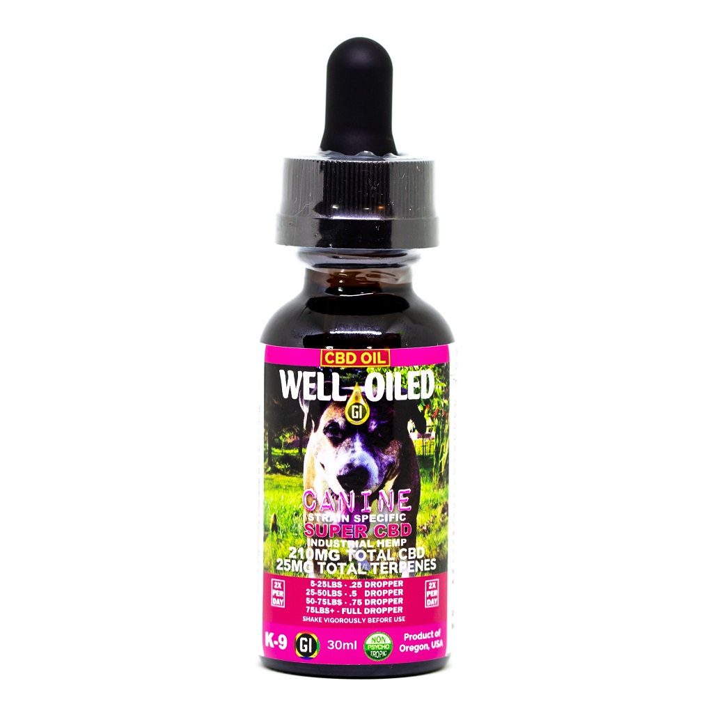 SUPER CBD Canine Label Front
