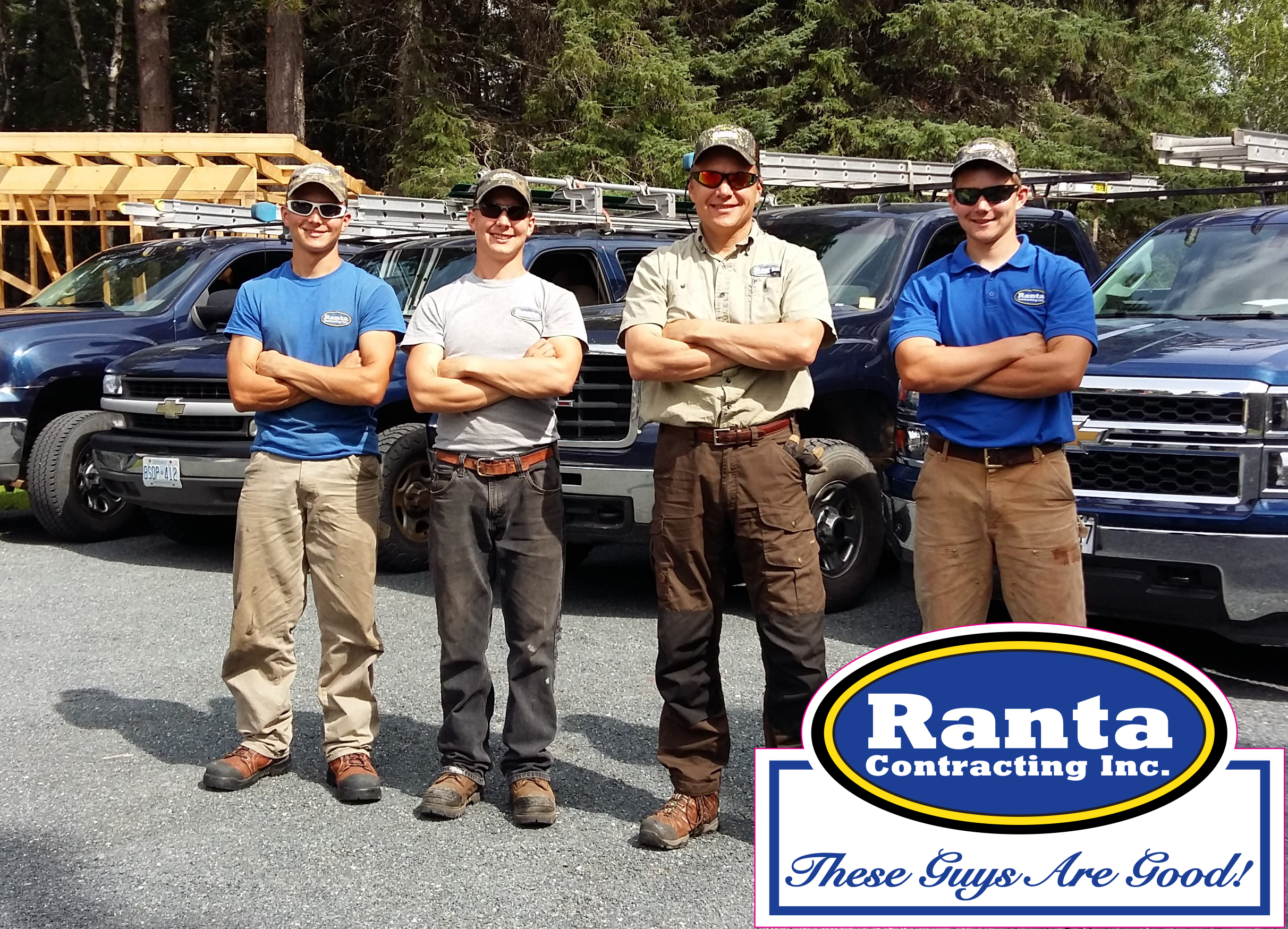 Ranta Contracting Inc.   3143 Dog Lake Road  Gorham Ontario  P7G OC3   John Ranta (807) 631-2346     Kyle Ranta (807)620-2961   email  rantacontracting@gmail.com   website  rantacontracting.ca