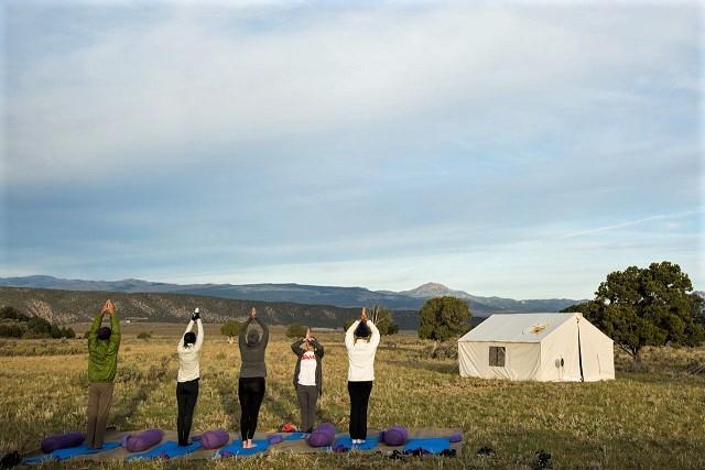 Yoga at Terra Glamping