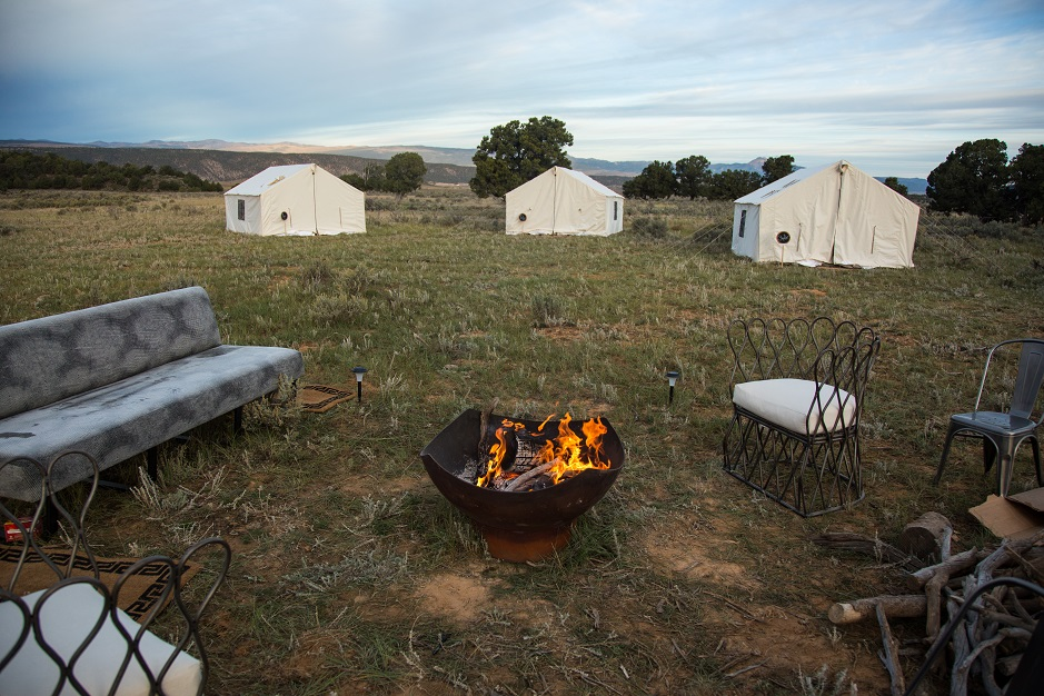 Terra Glamping Event- Campfire and Outdoor Lounge