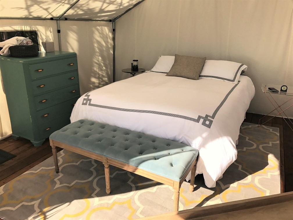 Terra Glamping Tent Interior