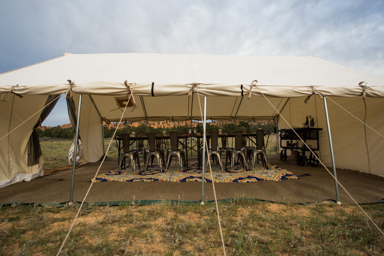 Terra Glamping Wedding-Event- Dining Tent