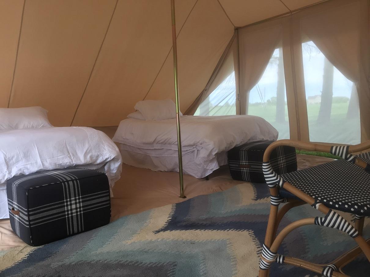 Terra Glamping Nomad Tent Interior Single Beds.jpg