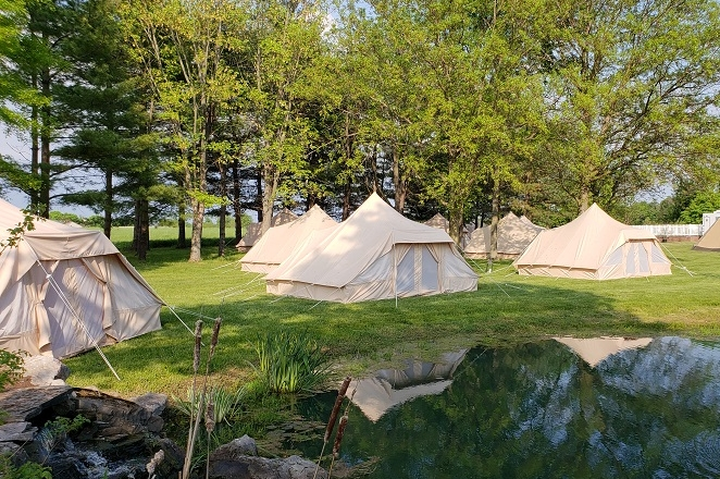Terra Glamping Tipi and Nomad Tents