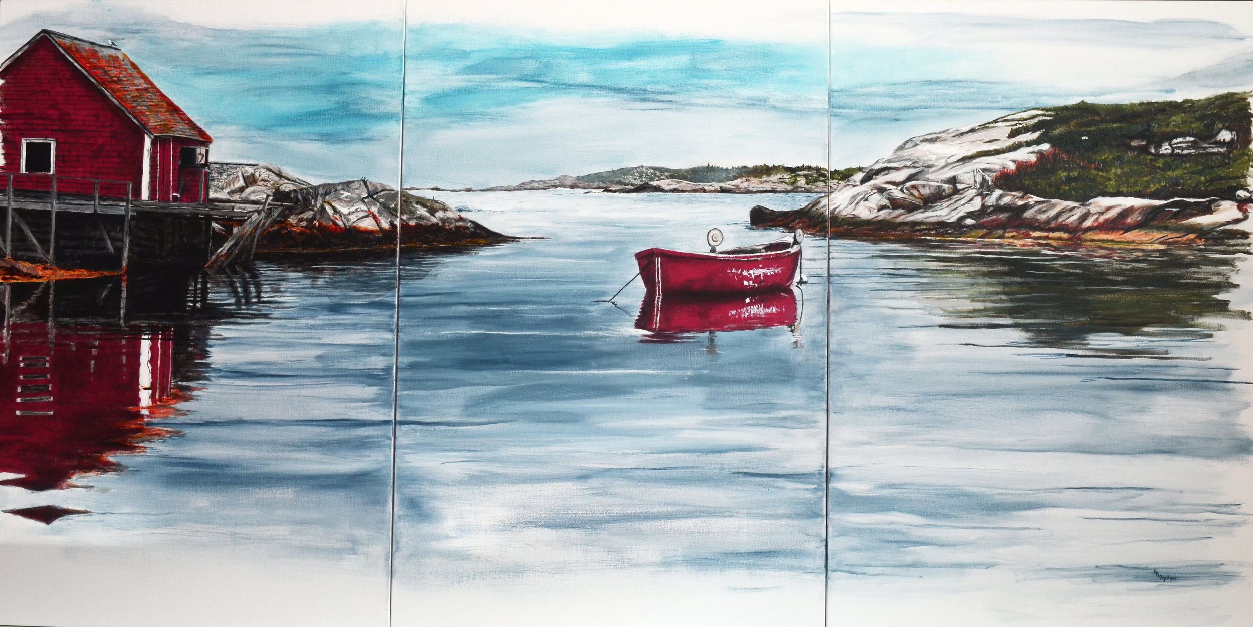 Peggy's Cove Triptych
