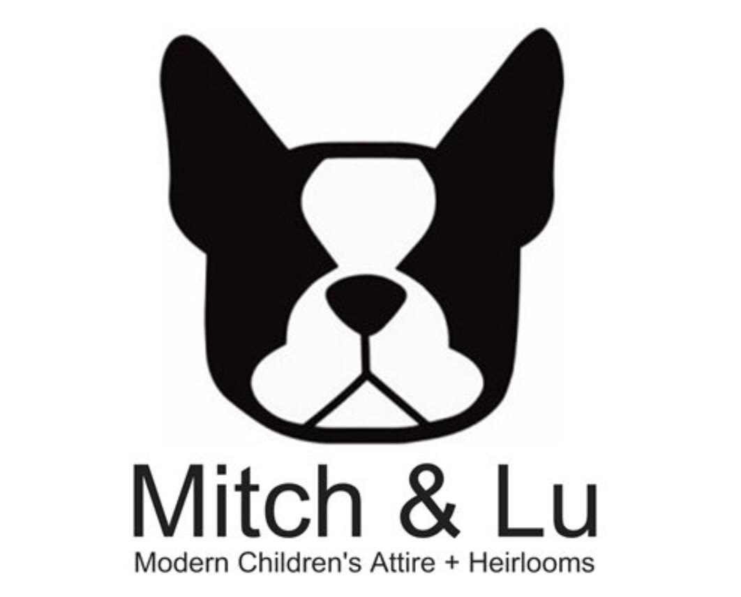 Mitch & Lu is a homegrown children's wear company that is made with love! Ainslie Watson is a stay at home mom and loving wife who lives in chatham ontario with her family and their two dogs - mitch & lulu! HER sewing adventure began when she was pregnant with her second child. she wanted to make him some trendy rompers, as she found (and still does) it's hard to find the right style for her! She had an old shirt of her husbands and turned it into the coolest thing. A romper! And it all started there...  Ainslie creates custom modern clothing for children and special recycled heirloom pieces from your own closet. That do it all!