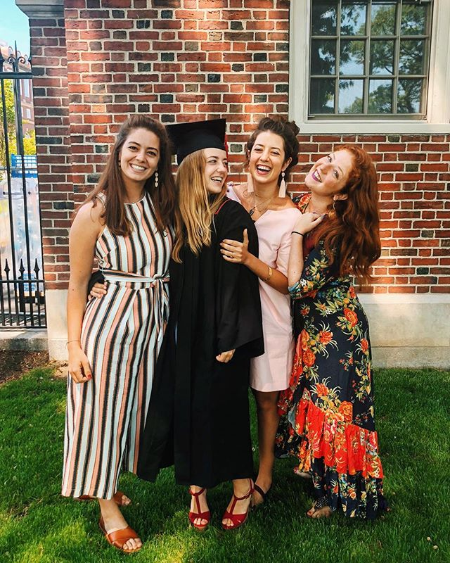 For those of you who have muted my stories, MY BABY SISTER JUST GRADUATED FROM COLLEGE!!!!!!!!!!!!!